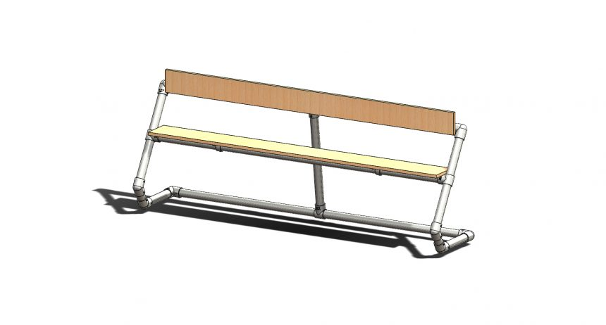 オリジナルベンチ